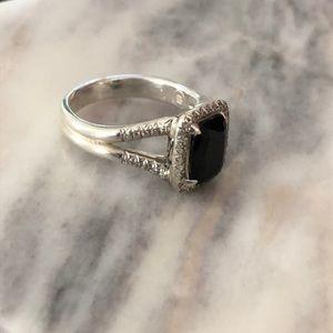 John hardy onyx and diamond ring